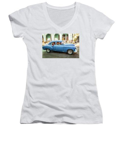 Cuban Taxi Women's V-Neck
