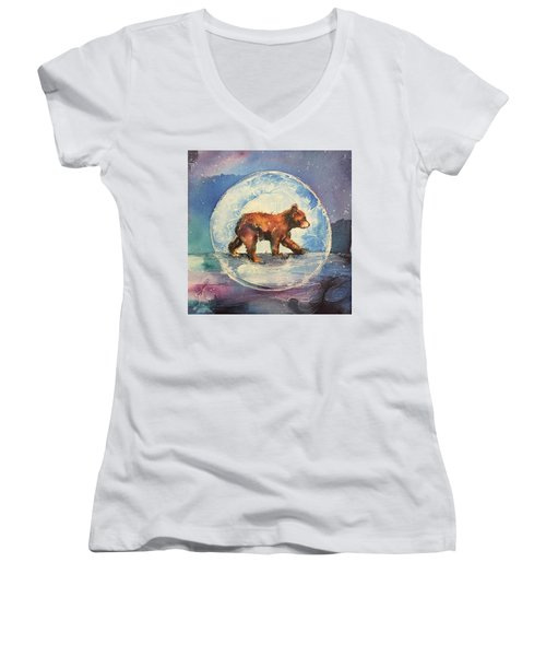 Cubbie Bear Women's V-Neck