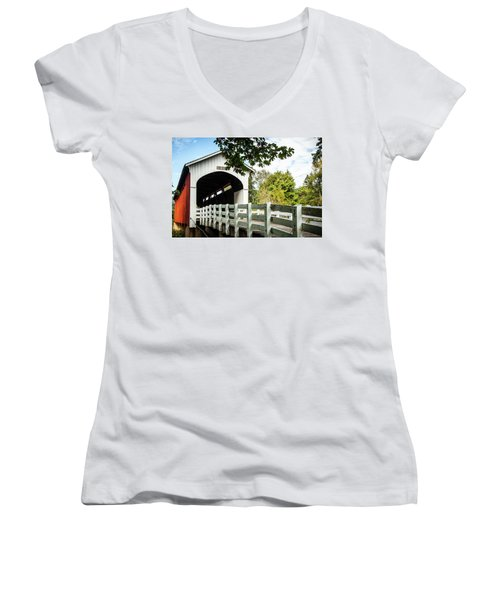 Currin Bridge Women's V-Neck