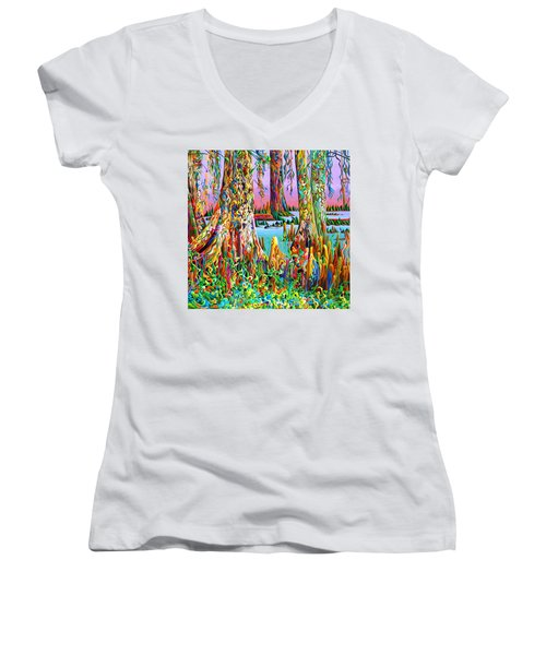 Cypress Spirit Rising Women's V-Neck