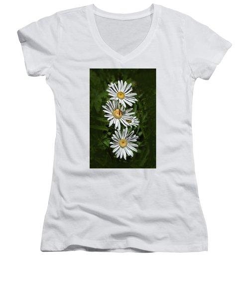 Daisy Chain Women's V-Neck T-Shirt