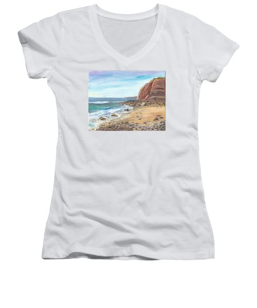 Dana Point Beach Women's V-Neck