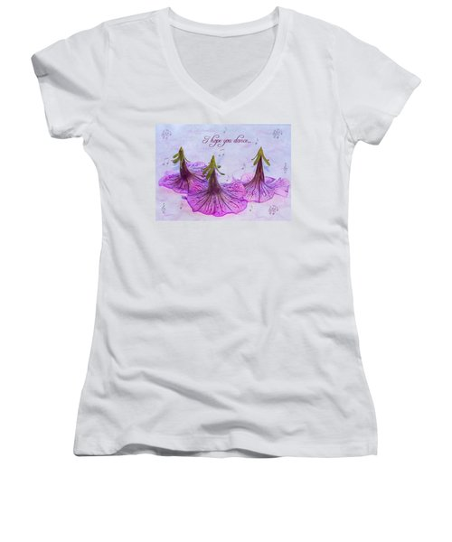 Dance Women's V-Neck