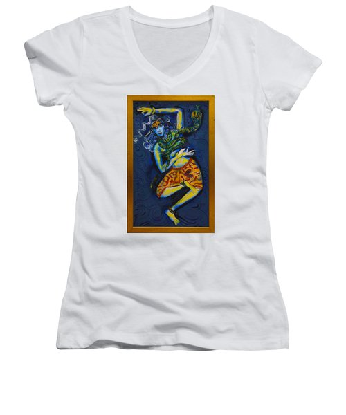 Dancing Shiva Women's V-Neck