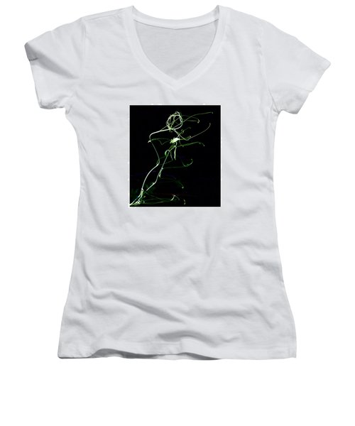 Dancing Vine Women's V-Neck T-Shirt