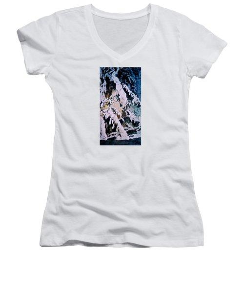 Dark Cover Women's V-Neck T-Shirt