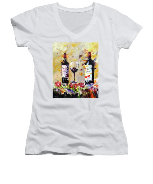Date Night Women's V-Neck