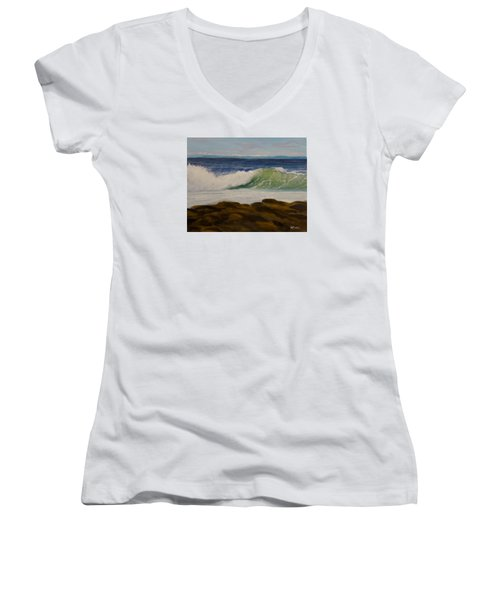Day After The Storm Women's V-Neck