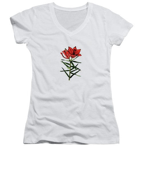 Day Lilly Women's V-Neck (Athletic Fit)