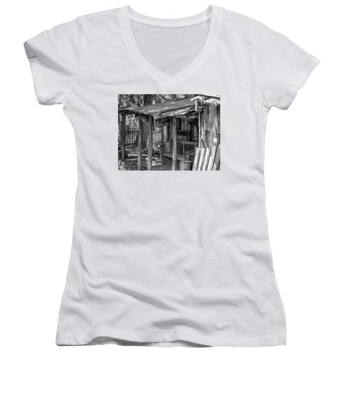 Days Gone By Women's V-Neck (Athletic Fit)