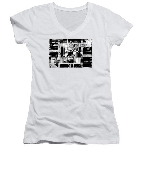 Decentralized Women's V-Neck T-Shirt