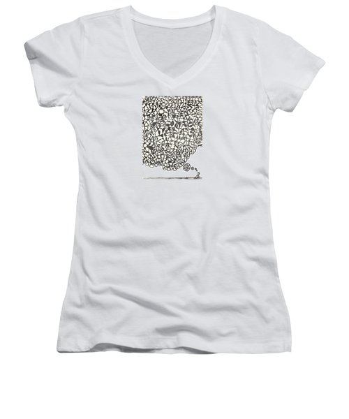 Deep Thoughts Women's V-Neck (Athletic Fit)