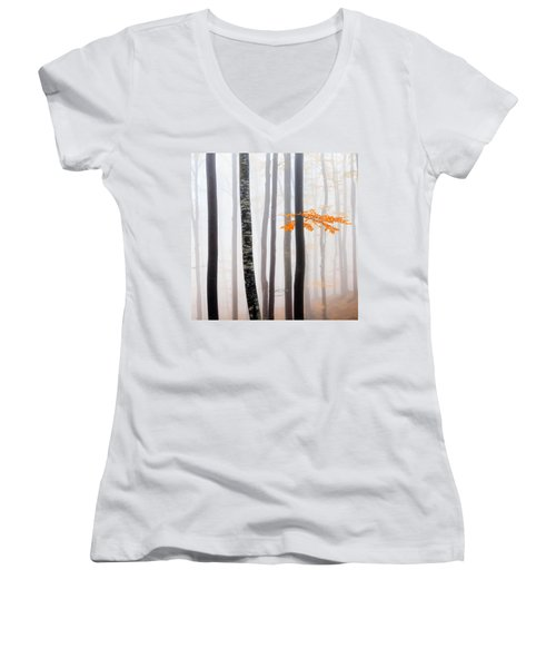 Delicate Forest Women's V-Neck