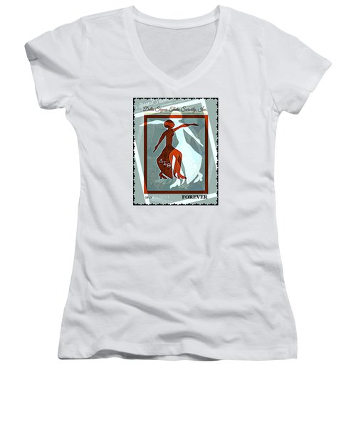 Delta Fortitude Women's V-Neck T-Shirt