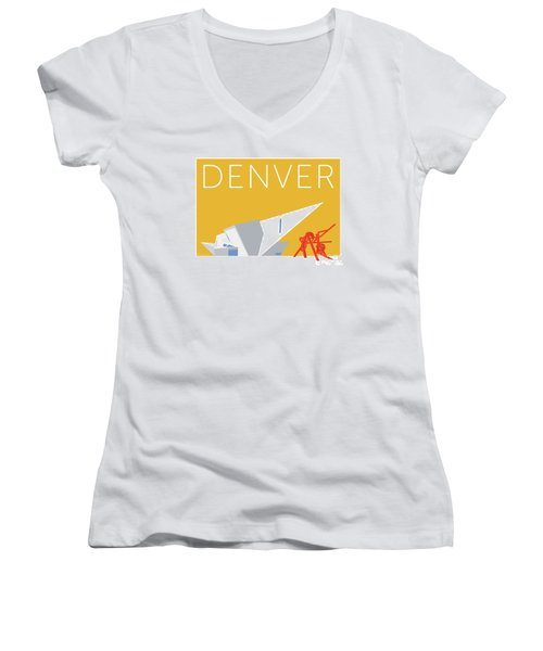 Denver Art Museum/gold Women's V-Neck