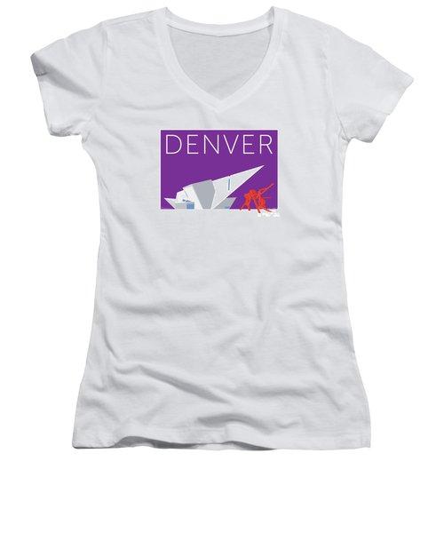 Denver Art Museum/purple Women's V-Neck
