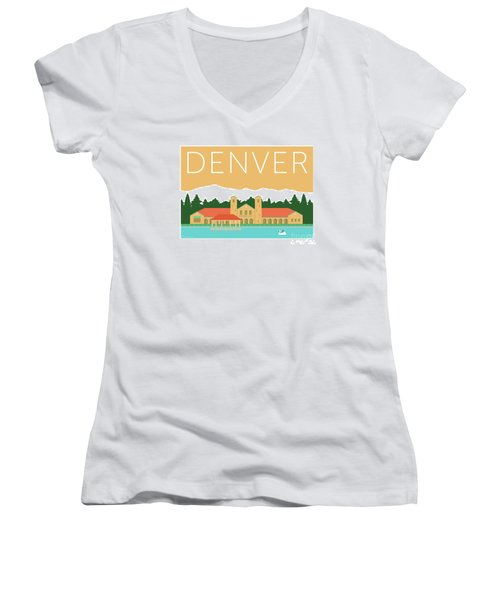 Denver City Park/adobe Women's V-Neck