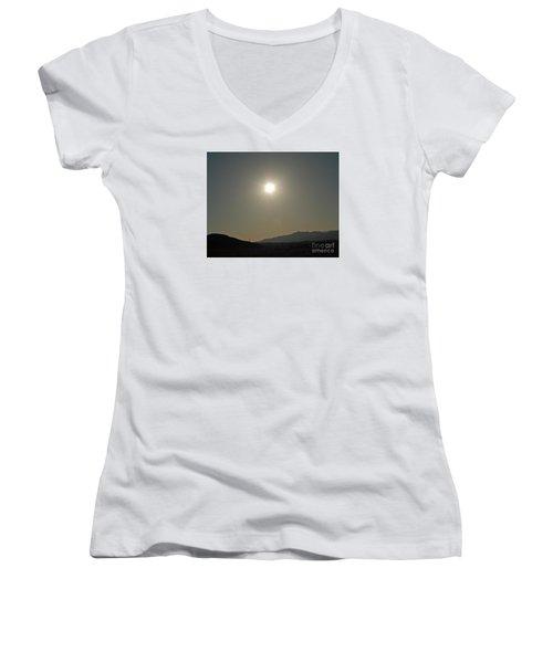 Desert Sun Women's V-Neck T-Shirt