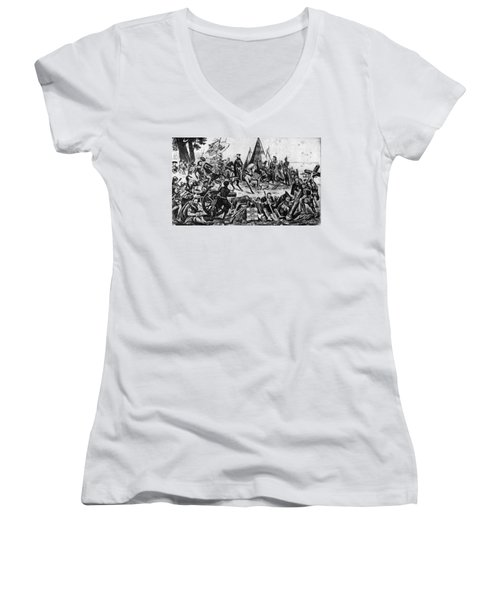 Desoto Women's V-Neck T-Shirt
