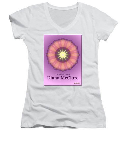 Diana Mcclure Women's V-Neck T-Shirt