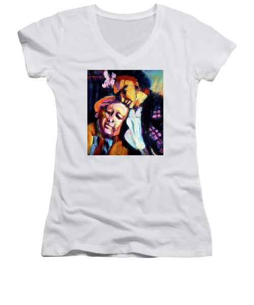 Diego And Frida Women's V-Neck (Athletic Fit)