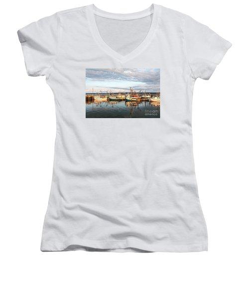 Digby Harbour Women's V-Neck T-Shirt