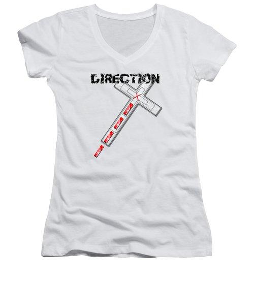 Direction Women's V-Neck