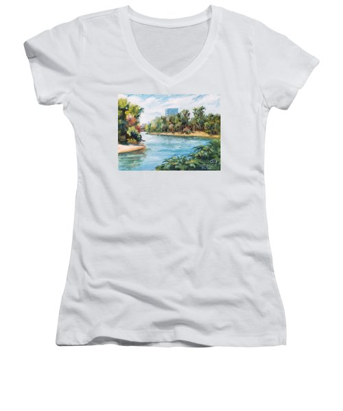 Discovery Park Women's V-Neck (Athletic Fit)