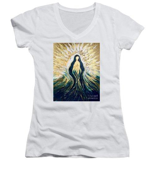 Divine Mother Women's V-Neck