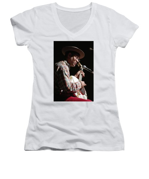 Dom Flemons Women's V-Neck