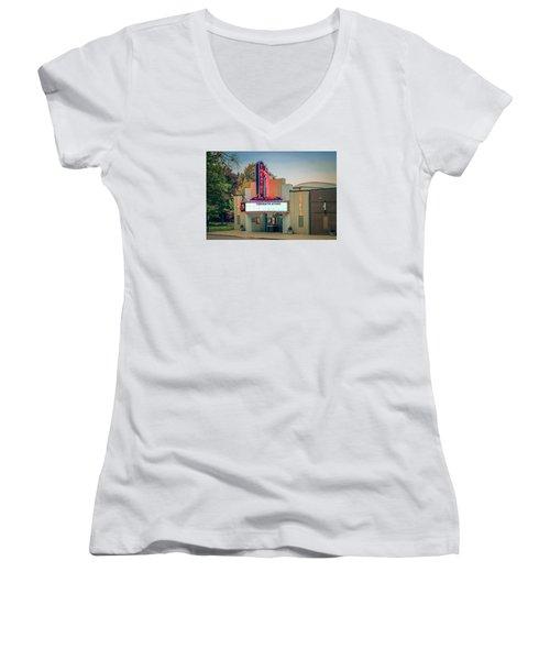 Don Gibson Theatre Women's V-Neck T-Shirt (Junior Cut) by Marion Johnson