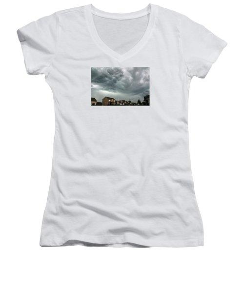 Doom Women's V-Neck T-Shirt