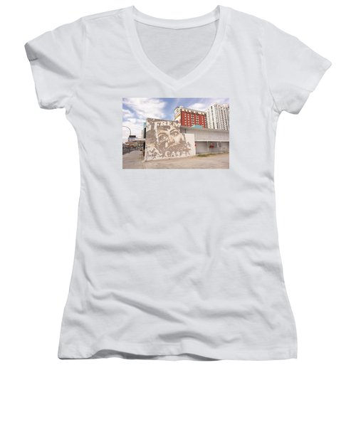Downtown After Women's V-Neck