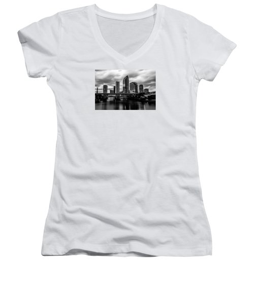 Downtown Tampa Women's V-Neck