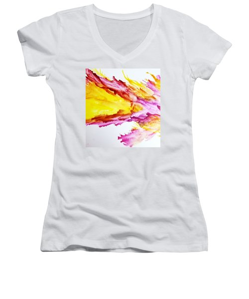 Dragon Breath Women's V-Neck