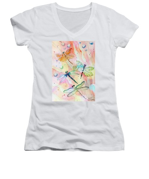 Dragon Diversity Women's V-Neck