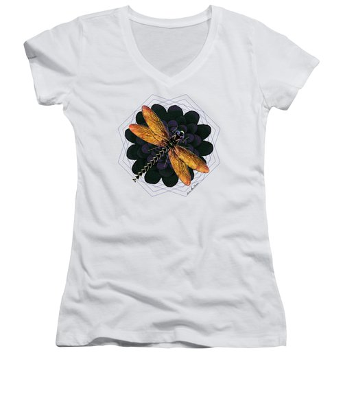 Dragonfly Snookum Women's V-Neck (Athletic Fit)