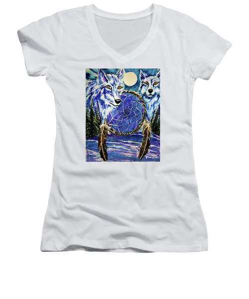 Dream Catcher Women's V-Neck T-Shirt