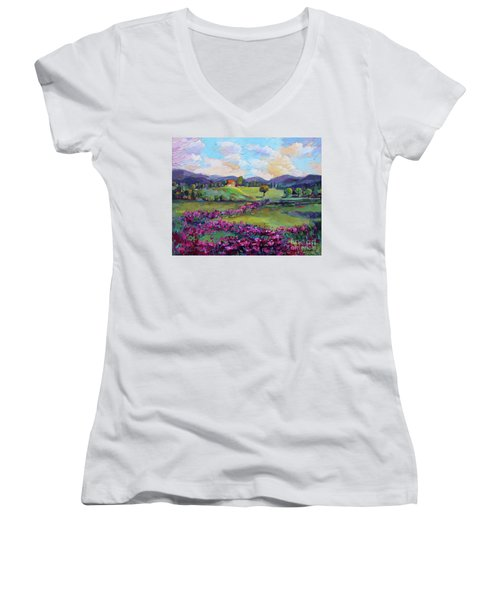 Dream In Color Women's V-Neck (Athletic Fit)