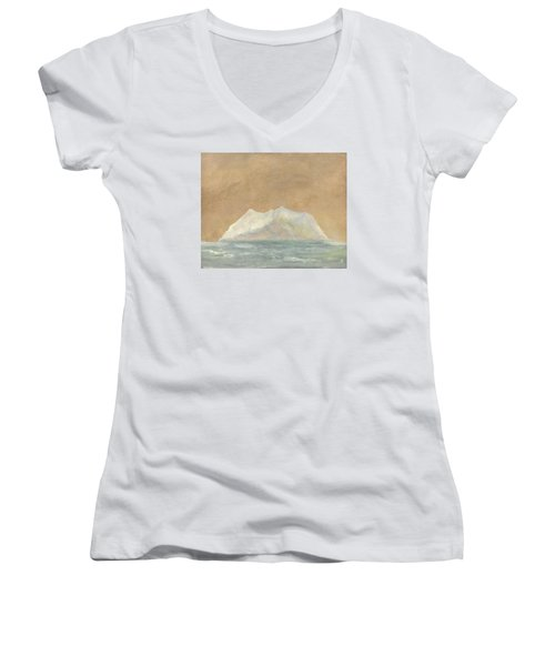 Dream Island II Women's V-Neck T-Shirt