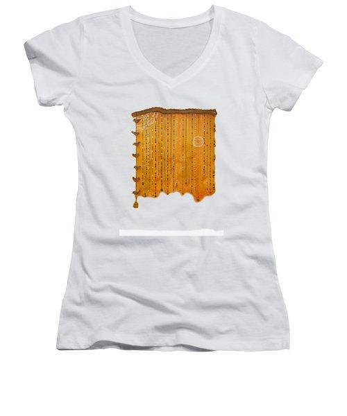 Dreamcatcher Women's V-Neck T-Shirt (Junior Cut) by Deborha Kerr