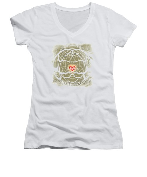 Dreamcatcher Women's V-Neck (Athletic Fit)