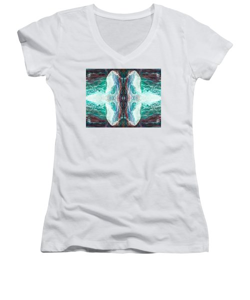 Dreamchaser #3198 Women's V-Neck (Athletic Fit)
