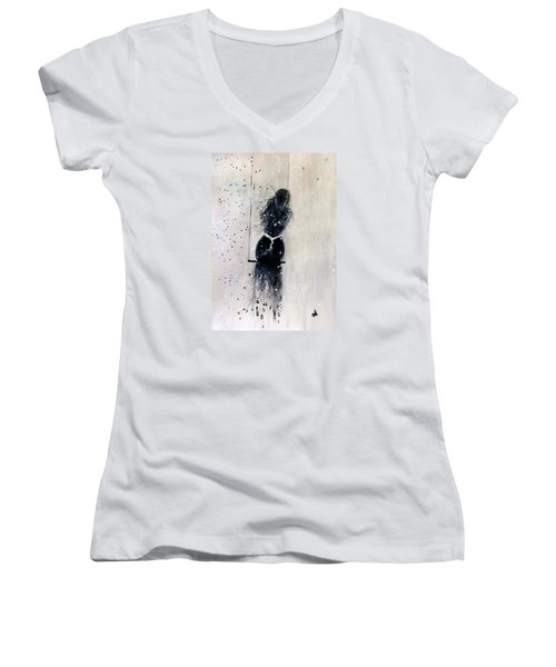 Dreams Come True.. 6 Women's V-Neck T-Shirt (Junior Cut) by Cristina Mihailescu