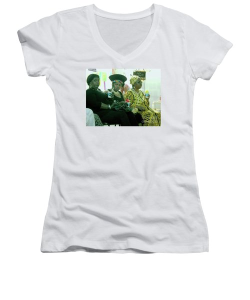 Dressed To The Nines Women's V-Neck