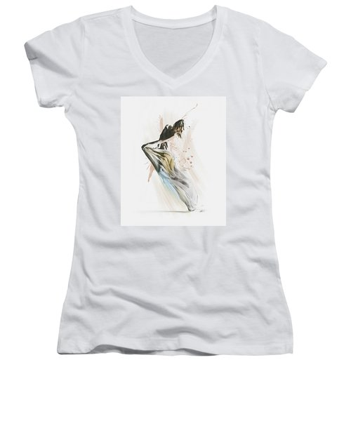 Drift Contemporary Dance Women's V-Neck