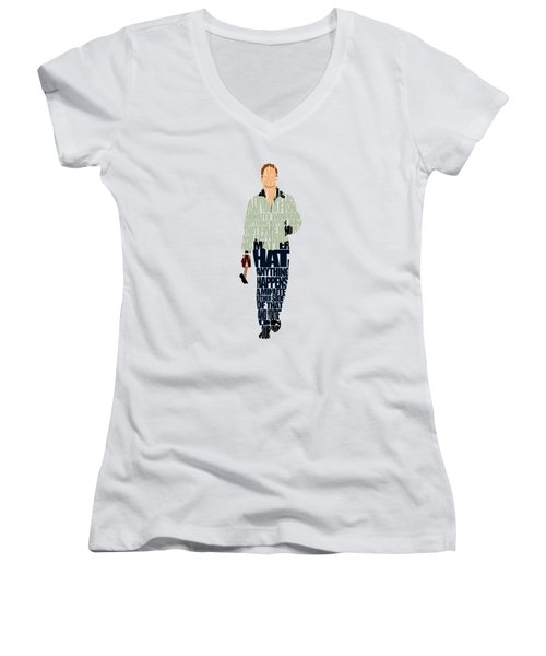 Driver - Ryan Gosling Women's V-Neck T-Shirt
