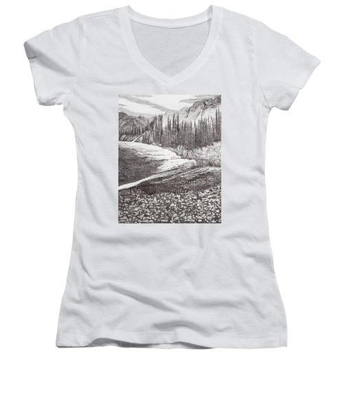 Dry Riverbed Women's V-Neck