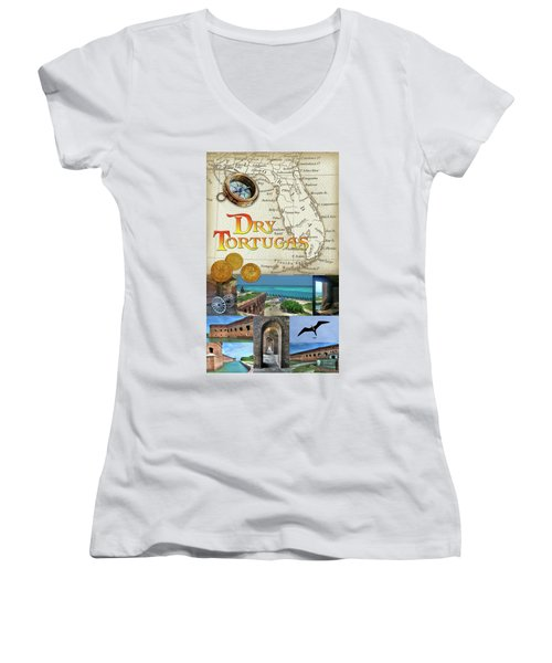 Dry Tortugas Women's V-Neck (Athletic Fit)