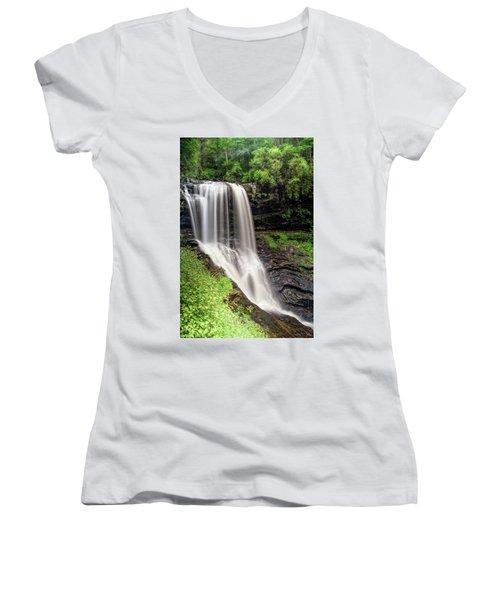 Drywalls Summer Women's V-Neck T-Shirt (Junior Cut) by Deborah Scannell